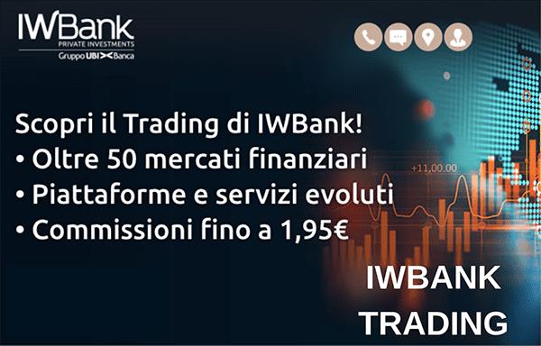 commissioni trading iwbank